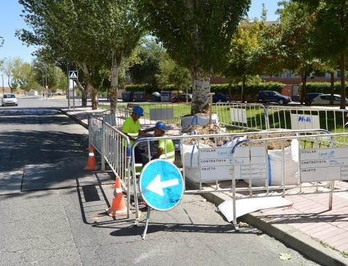 Canal de Isabel II Gestión comienza las obras para utilizar agua regenerada en el riego de 20.000 m2 de parques y jardines de Humanes de Madrid