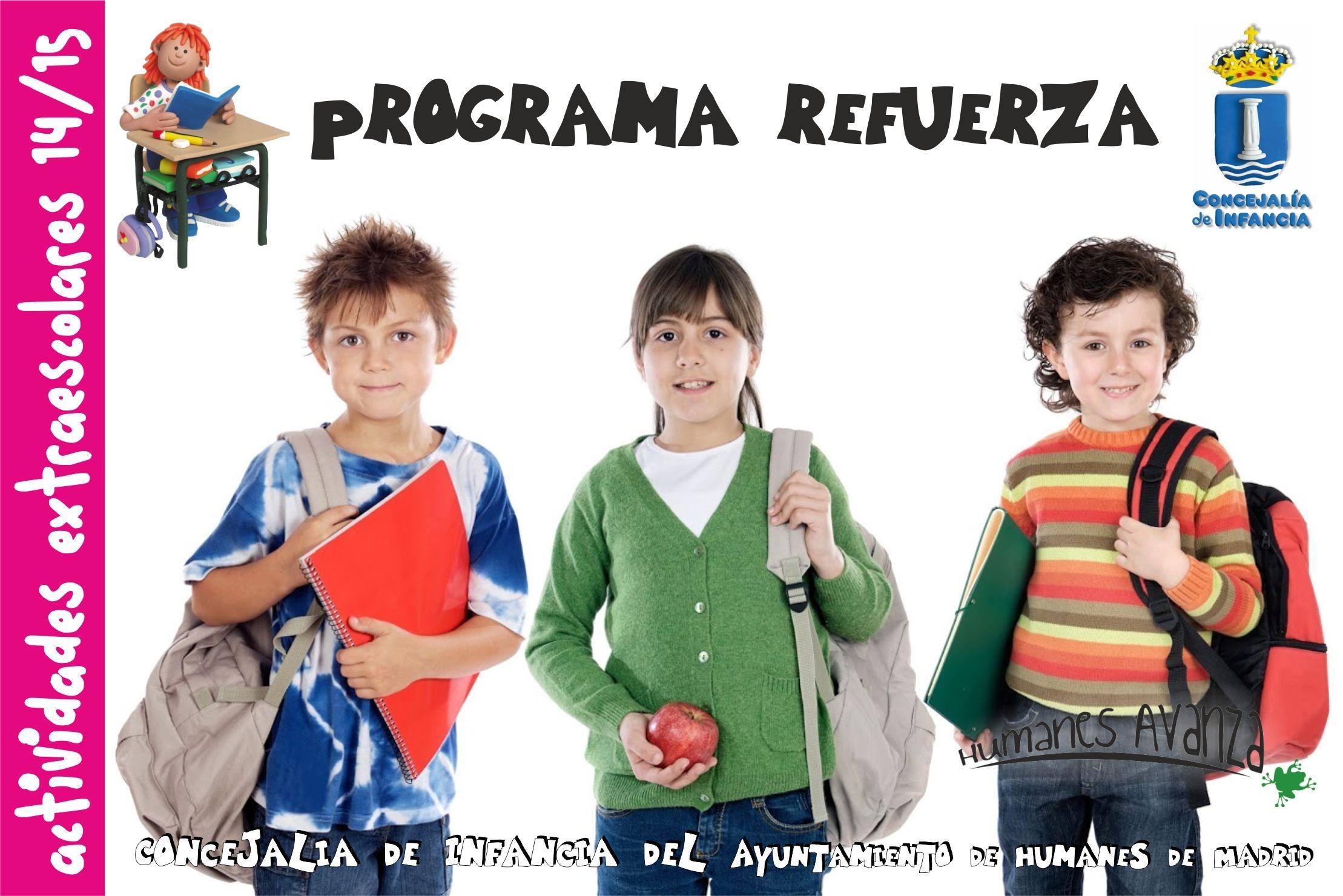 """Se reanuda el Programa """"Refuerza"""" de apoyo escolar, para niños de ..."""