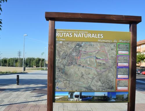 Humanes de Madrid dispone ya de 8 rutas naturales para realizarlas a pie o en bicicleta