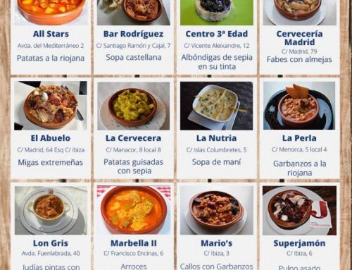 Durante los días 4, 5, 11 y 12 de febrero, Ruta de la Cazuela de Humanes de Madrid 2017
