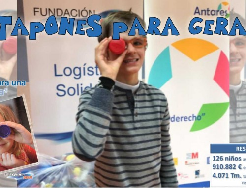 """Nueva campaña solidaria: """"Tapones para Gerardo"""""""