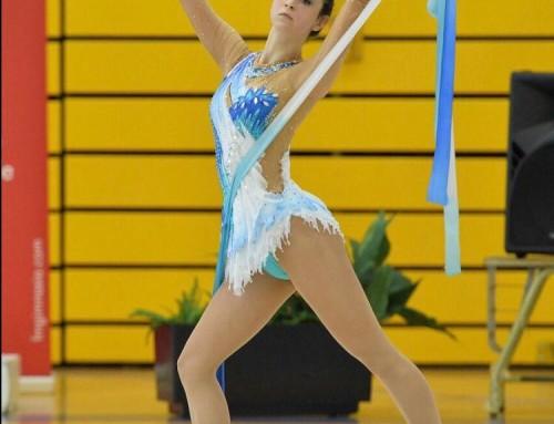 """La gimnasta humanense Mar de la Cruz participa en el Campeonato Nacional Base Individual """"Copa de la Reina"""""""