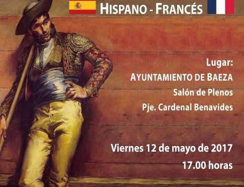 José Antonio Sánchez participará en el II Encuentro Hispano-Francés de la Federación Taurina de Jaén