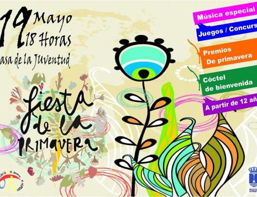 """19 de mayo, """"Fiesta de la Primavera"""" para los jóvenes de Humanes de Madrid"""