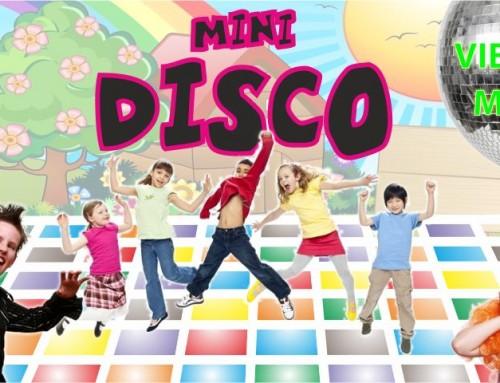 Este viernes, Fiesta de la Primavera en la Mini-Disco para los niños de Humanes de Madrid