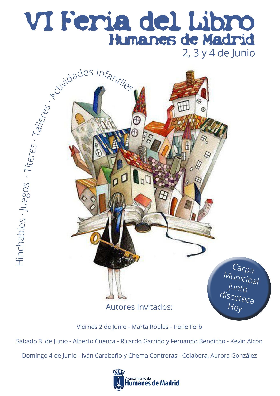 Vi feria del libro humanes de madrid ayuntamiento for Feria del mueble madrid 2017