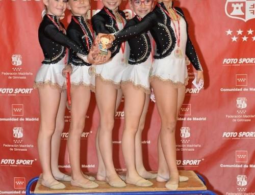La Escuela de Gimnasia Rítmica de Humanes de Madrid obtiene buenos resultados en la II Fase y Final de Escuelas de Conjuntos de la Federación Madrileña de Gimnasia