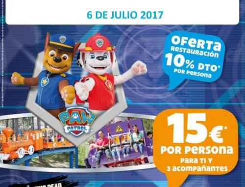6 de julio y 5 de agosto: Días Especiales de Humanes de Madrid en el Parque de Atracciones