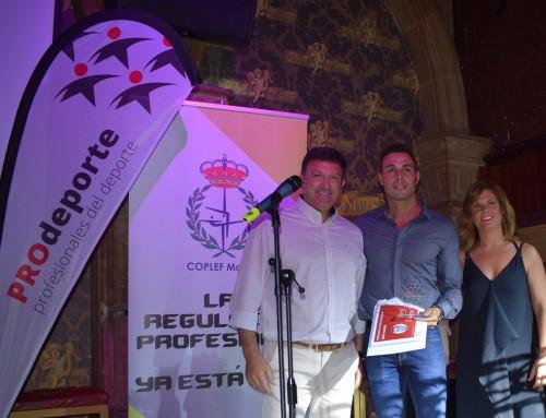 """José Antonio Sánchez participa en la gala de entrega de los I Premios """"PROdeporte"""""""