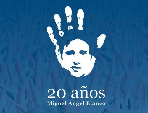 El 12 de julio, concentración en recuerdo a Miguel Ángel Blanco y a todas las víctimas del terrorismo