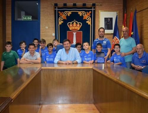 La Federación Madrileña de Fútbol Sala elige a David Sánchez Cid mejor entrenador Benjamín y Prebenjamín de la temporada