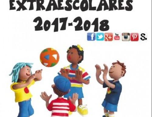 Hasta el 28 de septiembre, inscripciones abiertas para el programa de Actividades Extraescolares 2017-2018