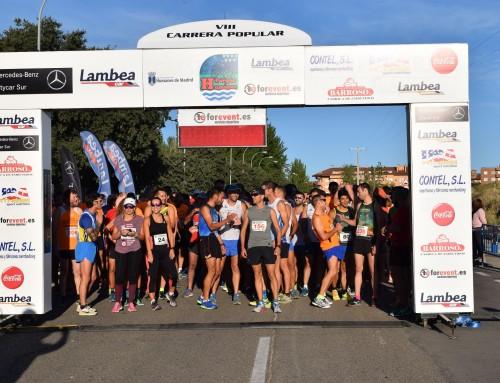 """Más de 600 personas participaron en la VIII Carrera Popular """"Parque Humanes"""""""