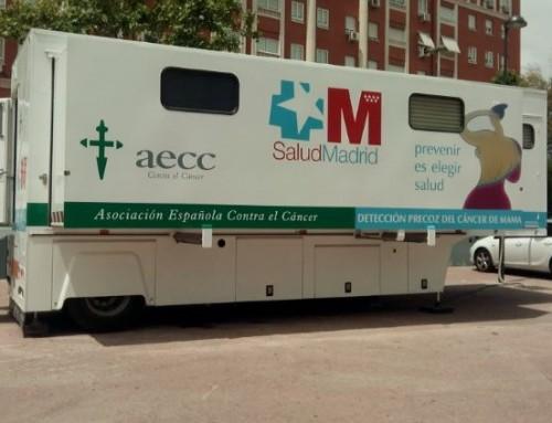 Del 6 al 22 de noviembre, Campaña de Detección Precoz del Cáncer de Mama en Humanes de Madrid