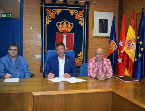 José Antonio Sánchez renueva el convenio de colaboración para potenciar la integración de las personas con discapacidad en Humanes de Madrid