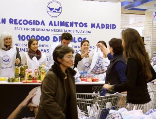 Ayuda a los más desfavorecidos apuntándote como voluntario en la V Gran Recogida de Alimentos del 1, 2 y 3 de diciembre