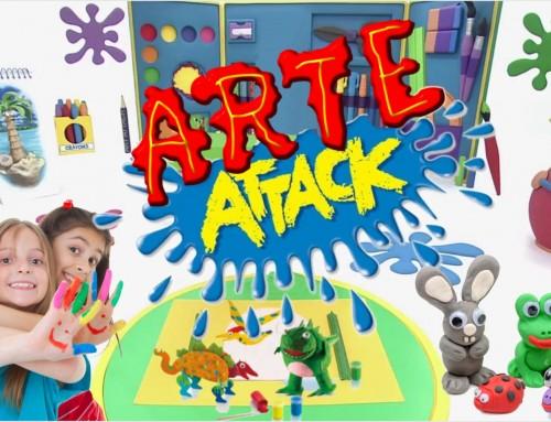 """Nuevo taller de """"Arte Attack"""" para alumnos de Infantil y de 1º a 3º de Primaria"""