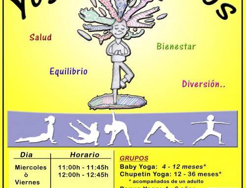 Nueva actividad en Humanes de Madrid: Yoga para niños