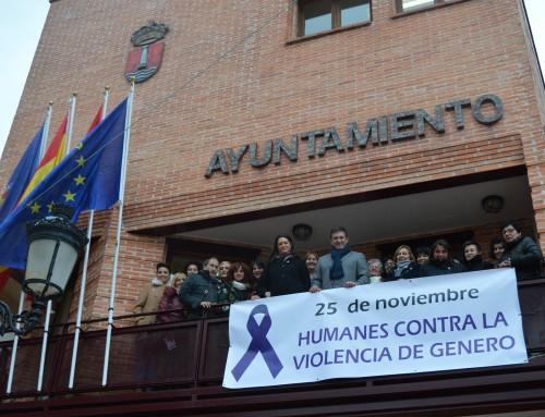 """Humanes de Madrid se suma al """"Día Internacional contra la Violencia de Género"""" con diversos actos"""