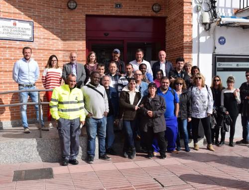 Más de 20 personas desempleadas de larga duración se incorporan al Ayuntamiento de Humanes de Madrid
