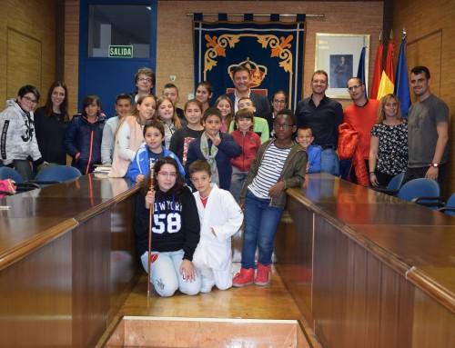José Antonio Sánchez se reúne con los niños del Consejo de Participación Infantil y Adolescente de Humanes de Madrid