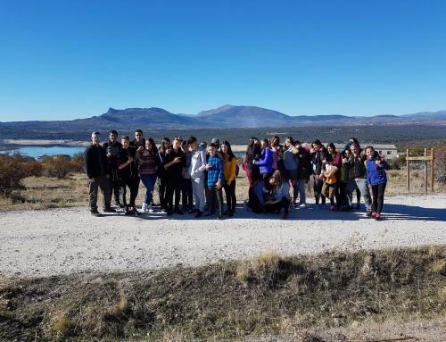 Un grupo de jóvenes humanenses disfrutaron de una excursión por la sierra madrileña