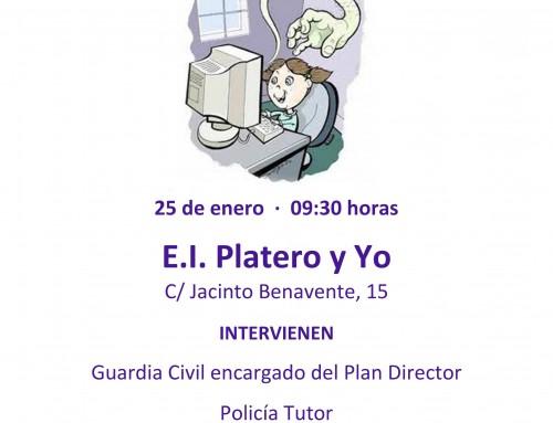"""El 25 de enero, charla sobre """"Control parental de Internet"""" dirigida a los padres de todos los alumnos de Humanes de Madrid"""