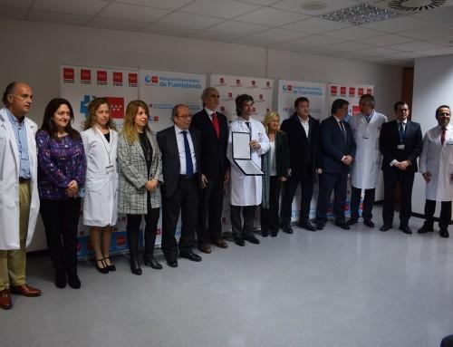 El Hospital Universitario de Fuenlabrada inicia las obras de ampliación del Servicio de Urgencias