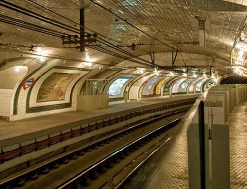 El próximo 15 de febrero, visita a la antigua estación de Metro de Chamberí