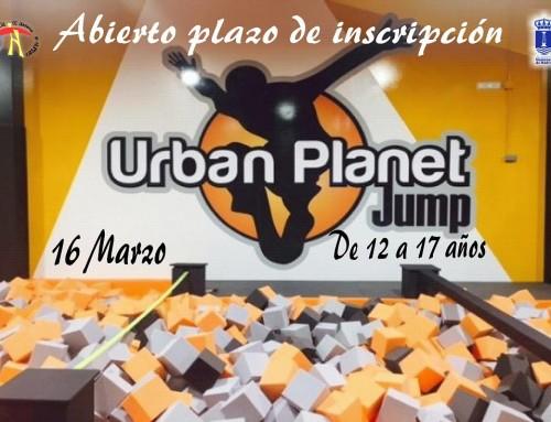 Inscripciones abiertas para una jornada de saltos y piruetas en Urban Planet Jump