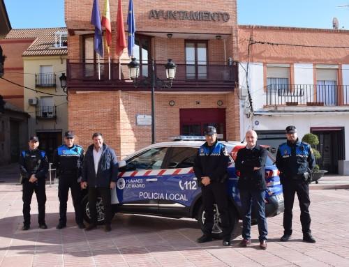 La Policía Local de Humanes de Madrid estrena un nuevo vehículo