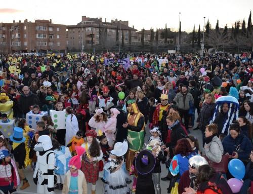 Gran participación en el desfile de Carnaval de Humanes de Madrid 2018