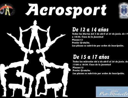 Abiertas las inscripciones para una actividad gratuita de acrosport destinada a los jóvenes de Humanes de Madrid