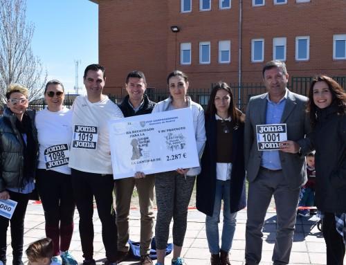 """Se recaudan 2.287 euros en la 1ª Carrera Solidaria a beneficio de la Fundación Juegaterapia, organizada por el Colegio Público """"Campohermoso"""""""