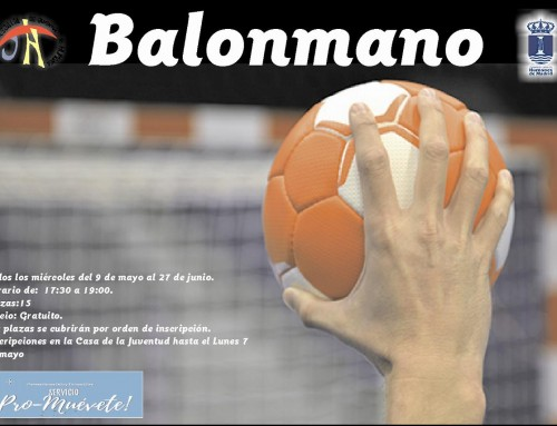 """""""Pro-Muévete"""", nueva actividad de balonmano para los jóvenes de Humanes de Madrid"""
