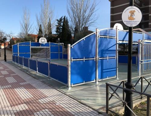 Humanes de Madrid estrena dos nuevas pistas deportivas