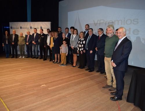 """Se celebra la quinta edición de los Premios """"Villa de Humanes"""""""