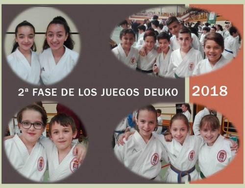 La Escuela de Karate Humanes obtiene muy buenos resultados en la 2ª Fase de los Juegos D.E.U.C.O. 2018