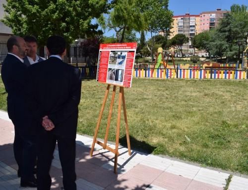 El consejero Pedro Rollán visita algunas actuaciones del Programa de Inversión Regional realizadas en Humanes de Madrid