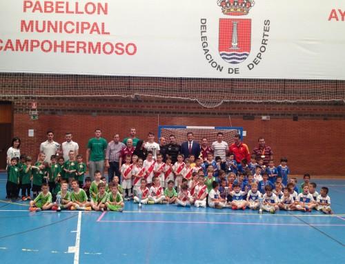 Inscripciones abiertas para realizar las pruebas de la Escuela de Fútbol Sala de Humanes de Madrid para la temporada 2018-2019