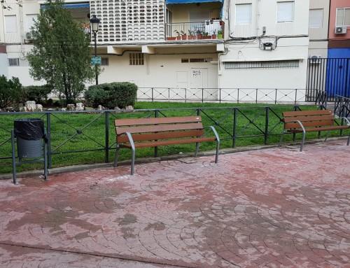 Renovación del mobiliario urbano de Humanes de Madrid