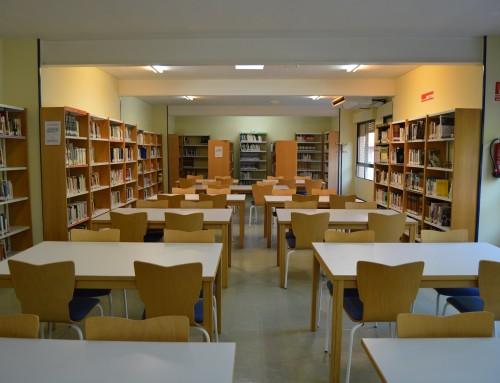 La Biblioteca Municipal «Lorenzo Silva» amplía su horario durante la época de exámenes