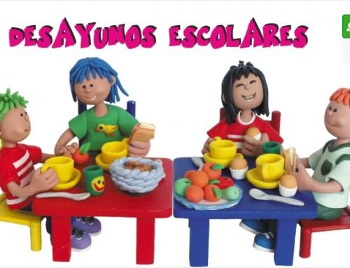 """Se abre el plazo de inscripción del servicio """"Desayunos Escolares"""" para el próximo curso 2018-2019"""
