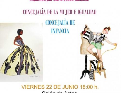"""El 22 de junio, desfile de modelos de los talleres de """"Diseño de moda"""""""