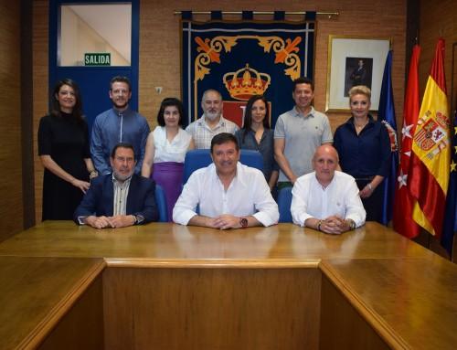 El equipo de Gobierno de Humanes de Madrid hace balance de los últimos tres años de gestión