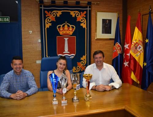 Marta Pareja, vecina de Humanes de Madrid, tercera en el Campeonato Nacional Olimpia de Fisioculturismo