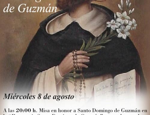 El próximo 8 de agosto, Humanes de Madrid celebrará su patrón: Santo Domingo de Guzmán