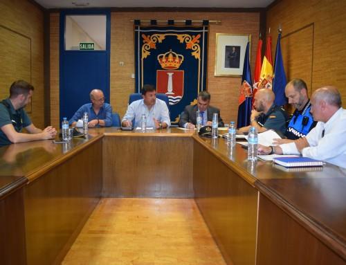 La Junta Local de Seguridad analiza la seguridad ciudadana de Humanes de Madrid