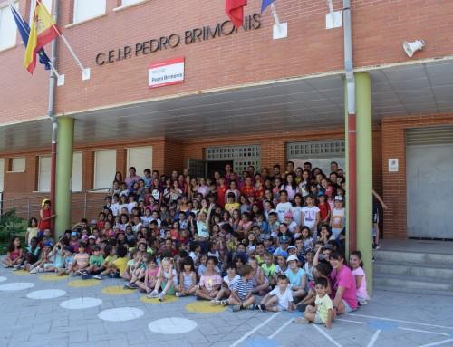 El alcalde de Humanes de Madrid, José Antonio Sánchez, visita los Campamentos Urbanos de Verano