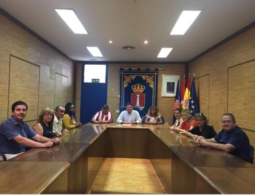 José Antonio Sánchez agradece su trabajo a los participantes en el Programa de Cualificación Profesional para personas desempleadas de larga duración